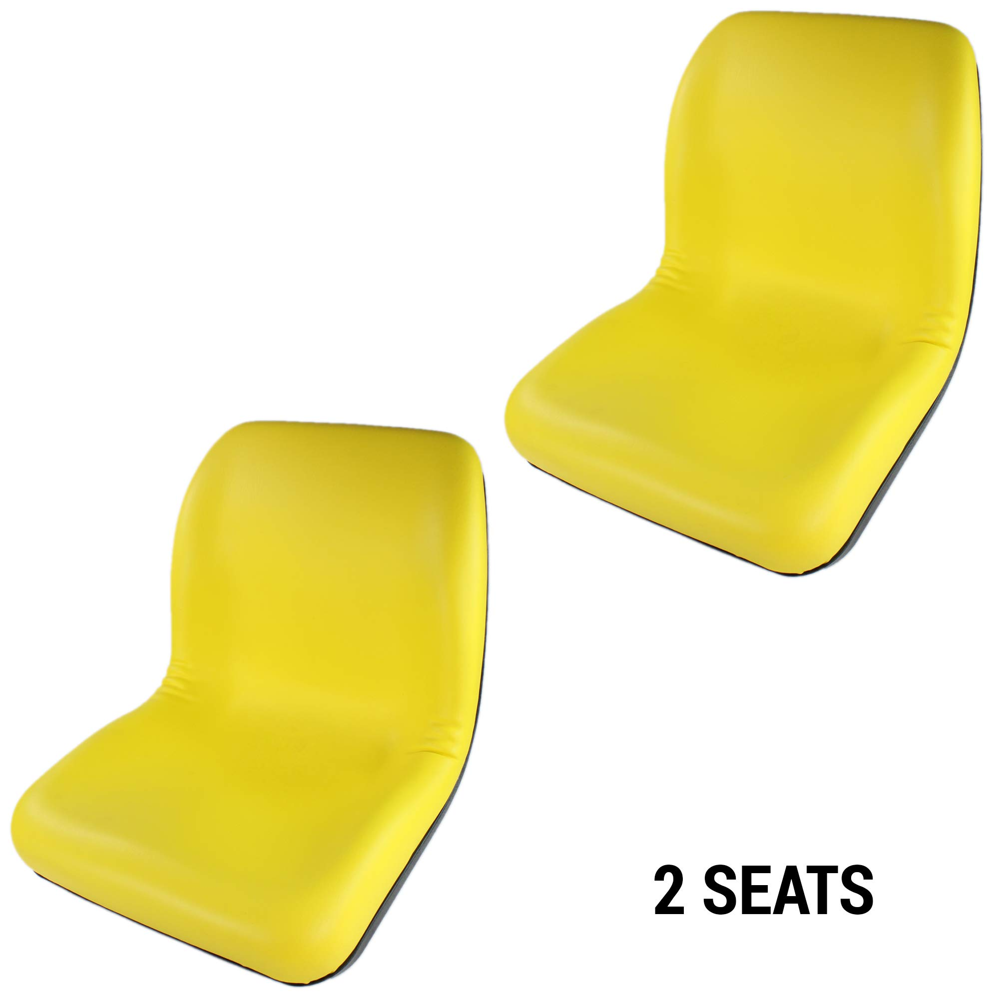 E-VG11696 Two Seats for John Deere Gator (2pcs) for XUV 850D, CX GATOR, CS GATOR, E GATOR, GATOR TURF, TE GATOR TURF ELECTRIC, TH TURF GATOR, TH 6X4 DIESEL GATOR, TX 4X2 GATOR, F735, F725, F710 ++ by Eparts, Inc.
