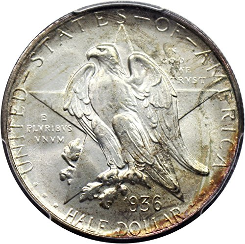 1936 D Silver Commems (1892-1954) Texas Half Dollar MS67 PCGS+