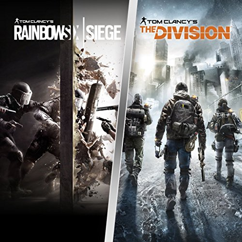 tom clancy 39 s the division and rainbow six siege bundle ps4 digital code. Black Bedroom Furniture Sets. Home Design Ideas