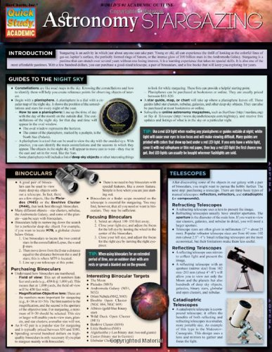 Astronomy: Star Gazing