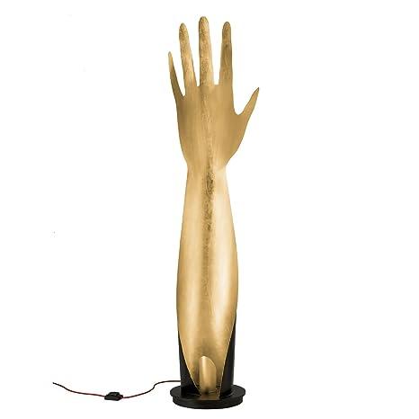 tredici Diseño Lámpara de pie mano en hojas oro | hecho a ...