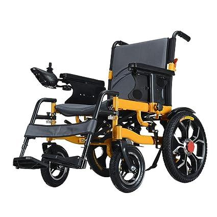 Inteligentemente Completamente automatico plegable discapacitado Cuatro rondas scooter anciano Aleación de aluminio ligero eléctrico silla de