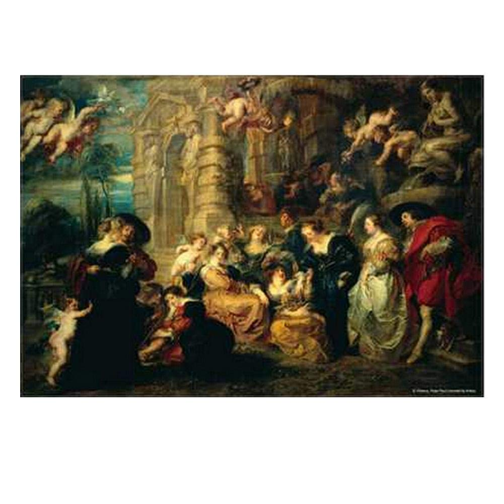 Famous Paintings Puzzle 1000 Piece Jigsaw Puzzle, Home of Love - Famous Paintings Puzzle 1000 Piece Jigsaw Puzzle, Home of Love