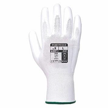 Nylon schwarz bunte Farben PU-beschichte Handinnenfl/äche Portwest A120/Gartenhandschuhe // Arbeitshandschuhe