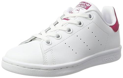 adidas stan smith j scarpe da basket unisex bambini bianco