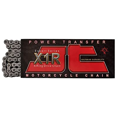 JT Sprockets (JTC525X1R120RL) Steel 120-Link 525 X1R Heavy Duty X-Ring Drive Chain: Automotive