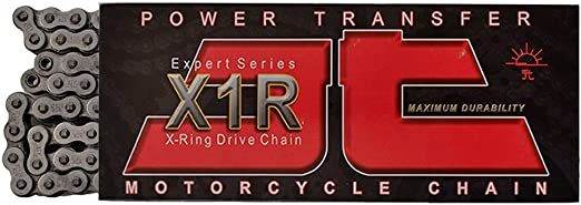 114 Links JT CHAINS 520 X1R Expert Series Heavy Duty X-Ring Chain Natural