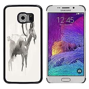 Dragon Case - FOR Samsung Galaxy S6 EDGE - Great minds have purpose - Caja protectora de pl??stico duro de la cubierta Dise?¡Ào Slim Fit