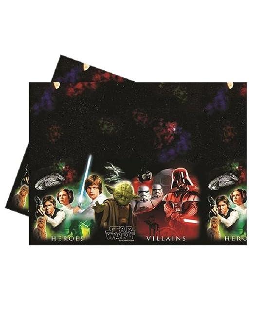 Mantel plástico Star Wars, decoración fiesta cumpleaños ...