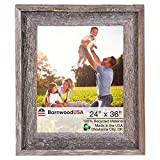 Best Big Frames - BarnwoodUSA 24x36 Signature Picture Frame - 100% Reclaimed Review