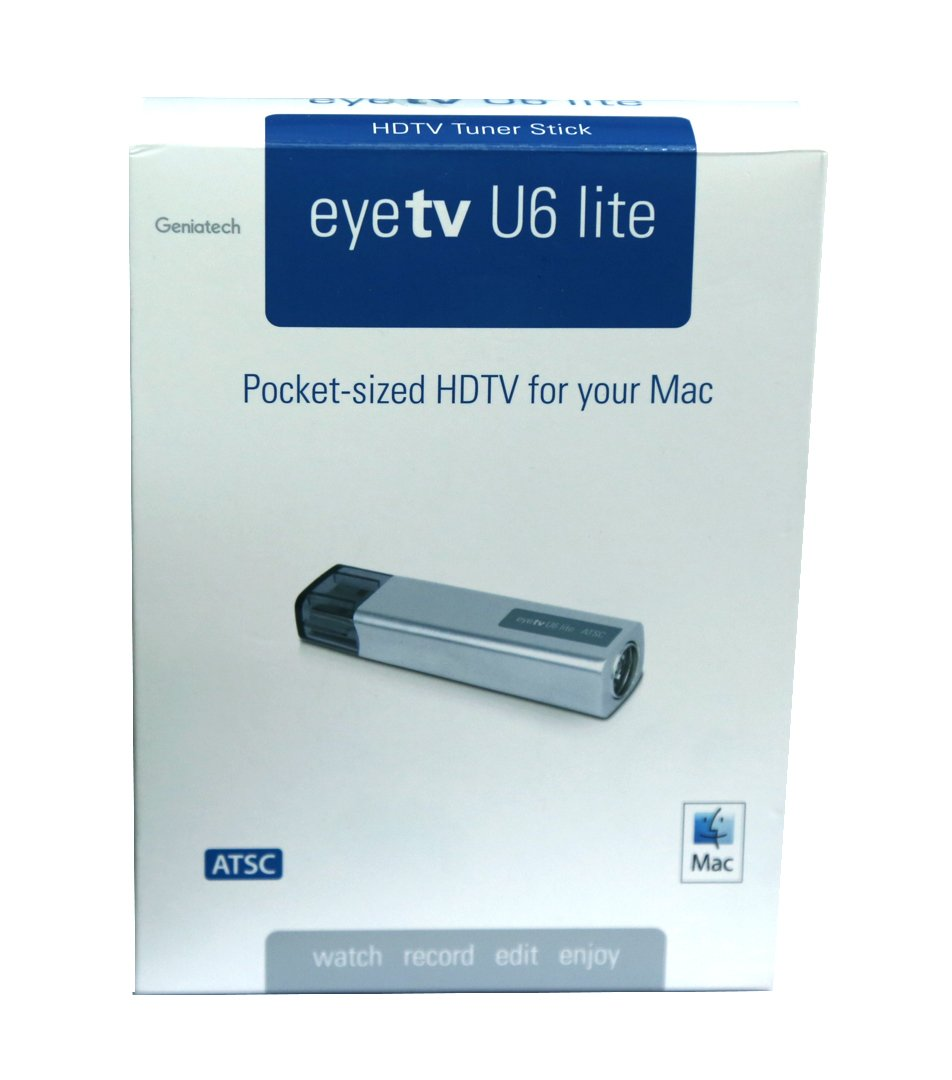 EyeTV U6 Lite Digital HDTV Tuner Stick TV for Mac and PC | Watch & Record Video | 2018 Edition