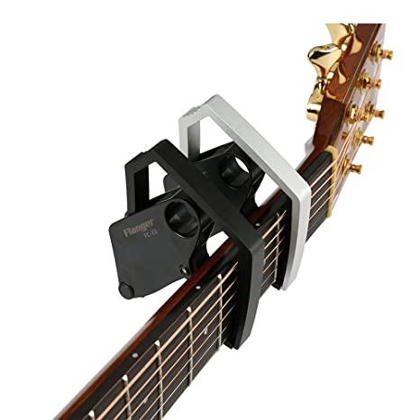 SUBTEL Flanger FC-33 - Cejilla para guitarra eléctrica acústica (cambio rápido)