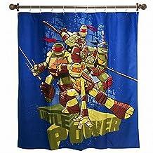 Nickelodeon Teenage Mutant Ninja Turtles Shower Curtain ( 72 inch X 72 inch )