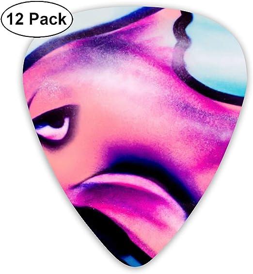 Cavdwa - Púas de Papel Pintado para Guitarra (0,96 mm, 0,71 mm, 0 ...