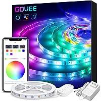 Govee 16.4-Foot LED Smart Strip Lights with Alexa, Govee APP Control 16.4ft WiFi Light Strip, Music Sync 16 Million Colors RGB LED Lights