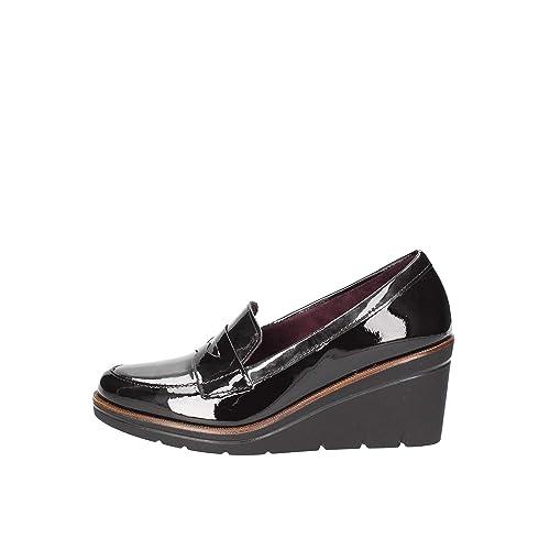 Pitillos 2810 Mocasines Mujer Negro 39: Amazon.es: Zapatos y complementos