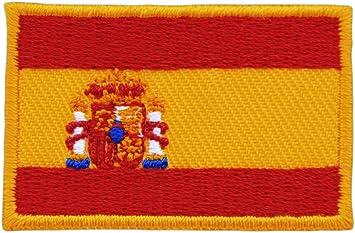 Parche de la Bandera de España (tamaño pequeño, 4,6 x 3,0 cm ...