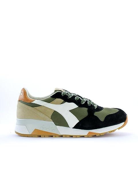 DIADORA PATRIMONIO hombre bajas zapatillas de deporte TRIDENTE 90 C SW 01 201.161304 C6158 41 Blu / verde: Amazon.es: Zapatos y complementos
