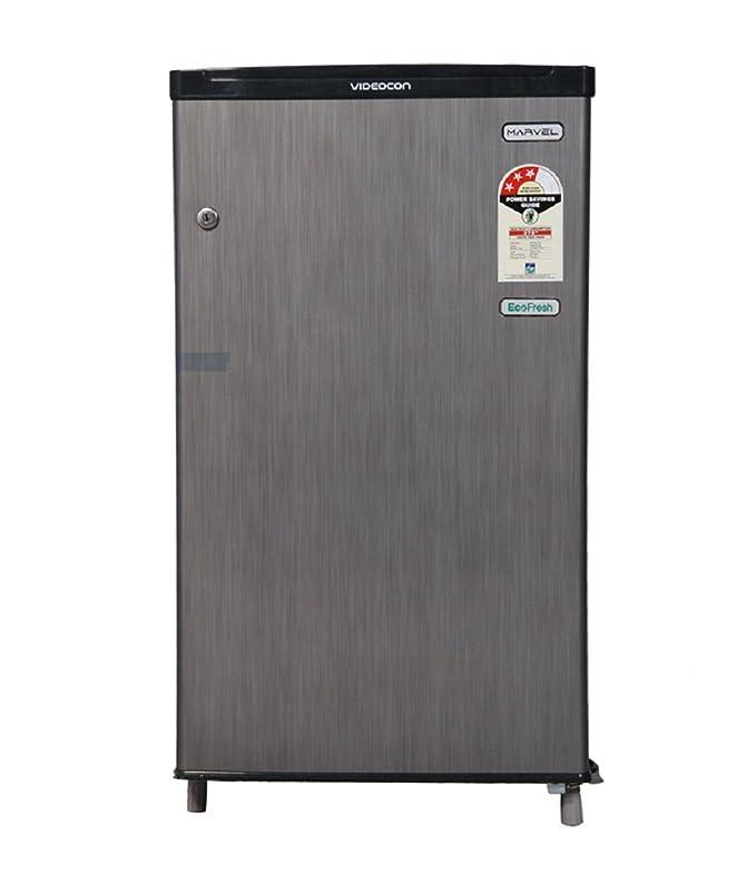 Videocon 80 L  Direct cool  Refrigerator  VC090PSH FDW/VC091PSH FDW, Silver Hairline  Refrigerators