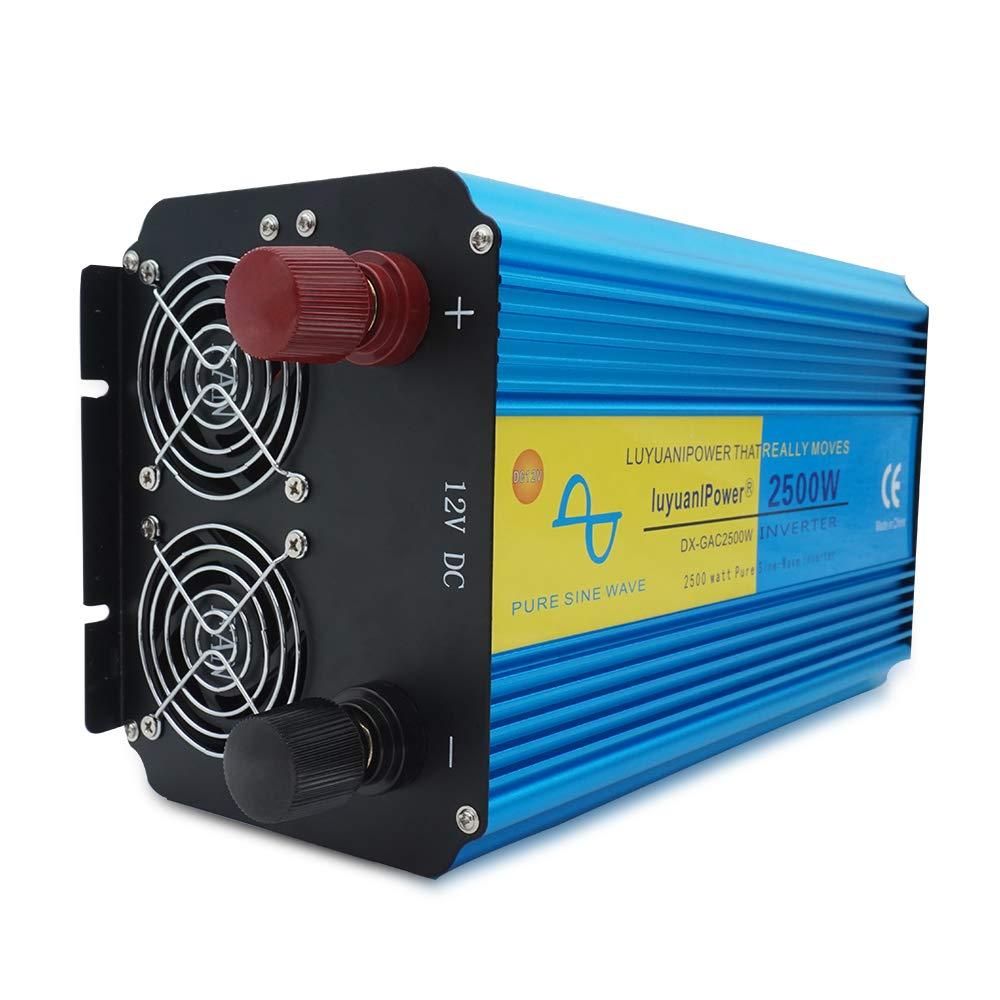 Yinleader inversor de Corriente Onda Pura 2500w 5000W ...