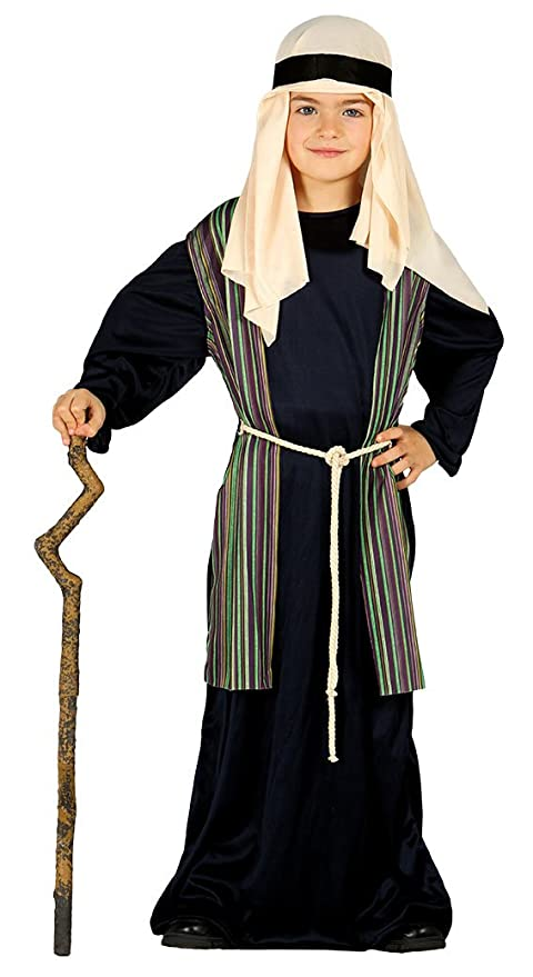 179ecf671ee3c Guirma Costume pastorello Arabo Blu giudeo Presepe Vivente Bambino ...