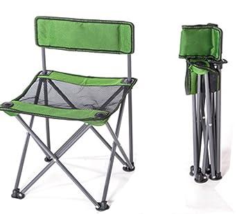 PC CHAIR Plegables Silla Plegable de Camping Portátil Silla ...