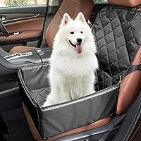 Bizcasa 2 In 1 Huisdier Booster Auto Stoelhoes, Waterdichte Huisdier Reizen Voertuig Puppy Carrier, Passagiersstoel Kat…