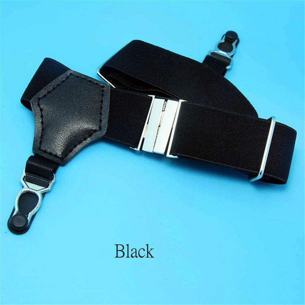 1Pair Sexy Men's Sock Garters Pin Grip Suspender Accessories Black DOREKIN