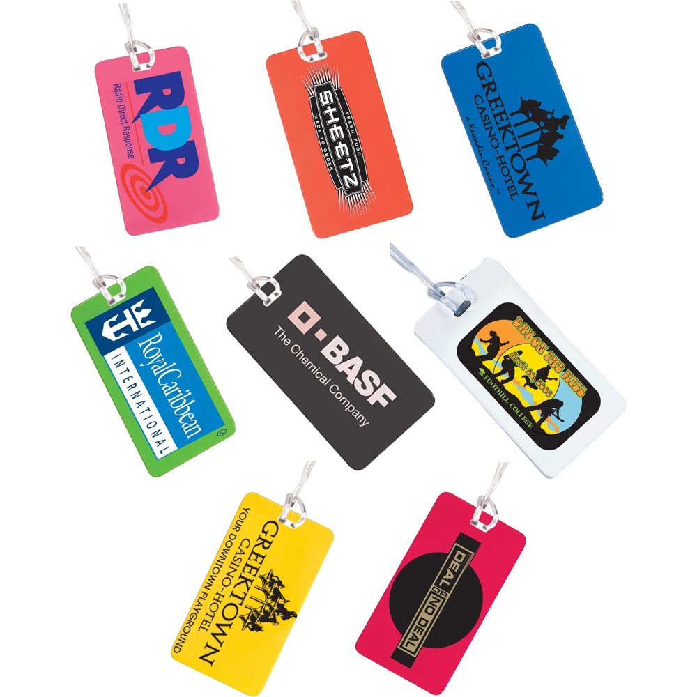 Hi Flyer Luggage Tag - 400 Quantity - $0.85 Each - PROMOTIONAL PRODUCT / BULK / Branded with YOUR LOGO / CUSTOMIZED by Sunrise Identity (Image #4)