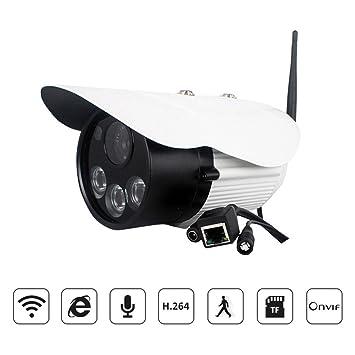 HD cámaras de vigilancia con sensor de movimiento IP Camera Recorder con cámaras de vigilancia bulletaudio