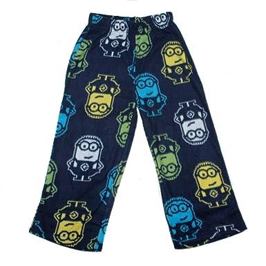 e99ddb4c834d Amazon.com  Despicable Me 2 - Minion Pajama Bottoms - Size 10 12 ...