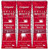 Beauty : Colgate Optic White Express White Whitening Toothpaste - 3 ounce (3 Pack)