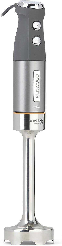 Kenwood HDM802SI - Licuadora (1 L, Batidora de inmersión, Plata, Metal, De plástico, Acero inoxidable, 1000 W)