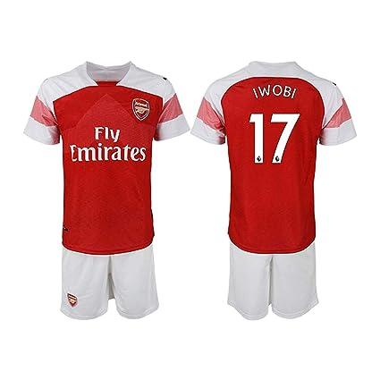 new style ccb27 e2c85 Amazon.com : COCOBE Viscustom The New Arsenal Iwobi Men's ...