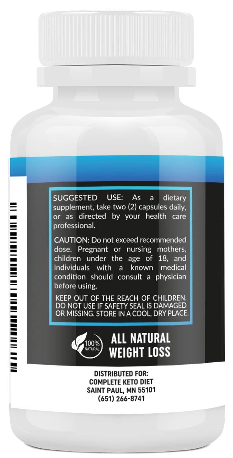 Keto Diet Pills - Weight Loss Fat Burner Supplement for Men and Women -  Carb Blocker & Appetite