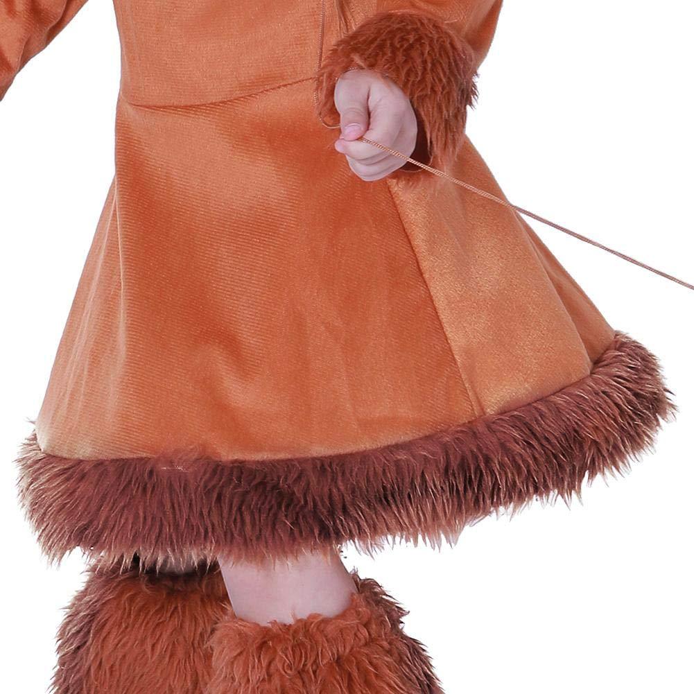 S Diamondo Cute Kids Boys Girls Costumes Fox Halloween Performance Clothes Set