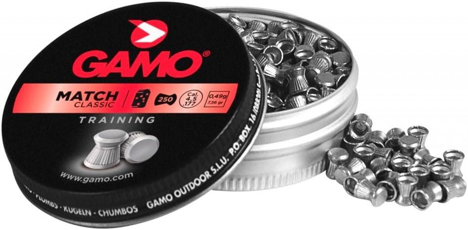 Gamo Balines Macht 4.5 Calibre: 4.5 (10 latas, 2500 balines)