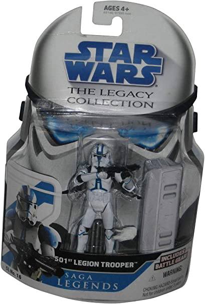 "5pcs//lot Star Wars 501st Republic Clone Trooper Action Figures 3.75/"""