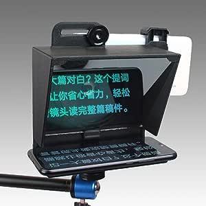 S18 - Mini teleprompter portátil para Todos los Smartphones con ...