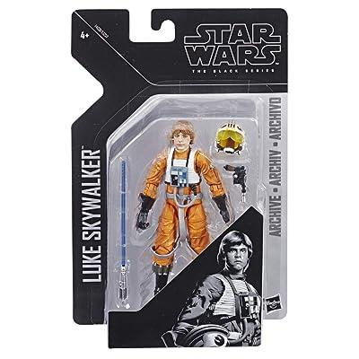 Star Wars E4 Luke Skywalker Pilot, multicolor (Hasbro E4038ES0): Juguetes y juegos