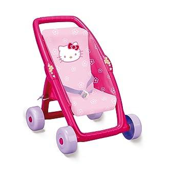 Amazon.es: Smoby 513838 Hello Kitty - Carrito para muñeca: Juguetes y juegos