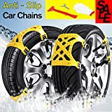 Kyпить Car Tire Chains Anti-slip Snow Chains Ice Chains Cable Traction Mud Chains Slush Chains Snow Tire Chains All Season Tire Anti-slip Chains for Cars 6PCs for Tire Width 165-265mm/6.5-10.4'' на Amazon.com