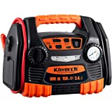 Kinverch Portable Car Jump Starter 900 Peak Amp 12 Volt with 1-USB 1-12V Power Ports & 150 PSI Air Compressor