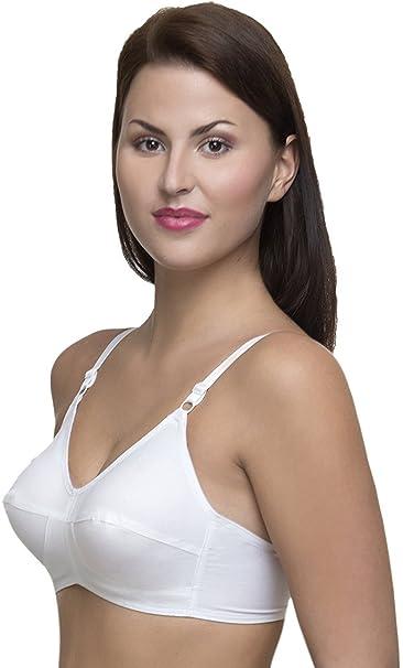 06eed7183a Teenager Women s Cotton Bra (White
