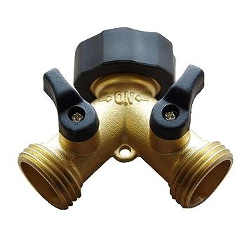 Freehawk® Hose Valve/ Hose Faucets/ Flexible Hose Connector/ Garden Hose  Splitter,