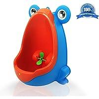 Orinal para niños con diseño de rana