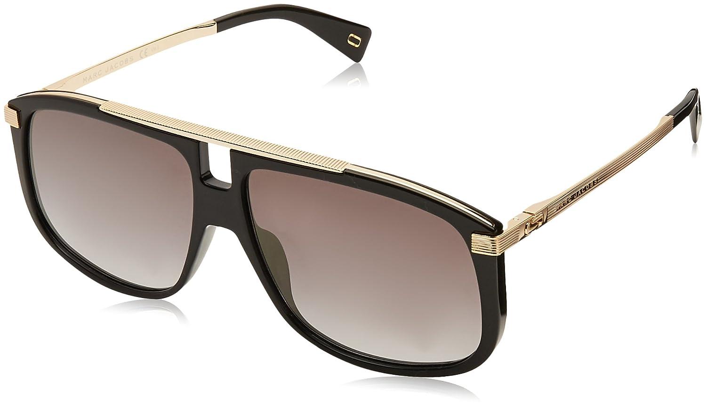 Marc Jacobs Herren Sonnenbrille 243/S FQ 2M2 60, Black Gold/Gy Grey ...