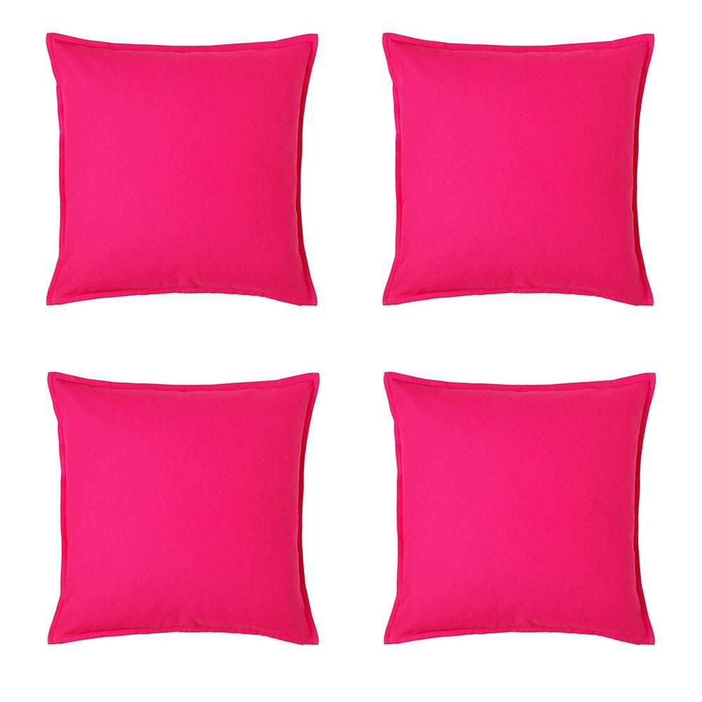IKEA GURLI Cushion Cover 50 x 50 cm 100/% Cotton RED NEW