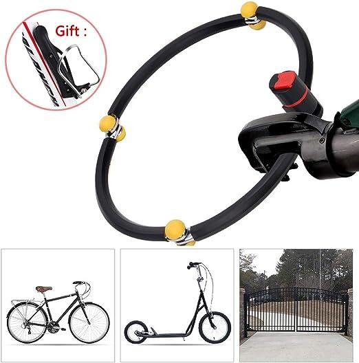 Candados Plegables,Durable Candado Bici Candado Bicicleta Alta ...