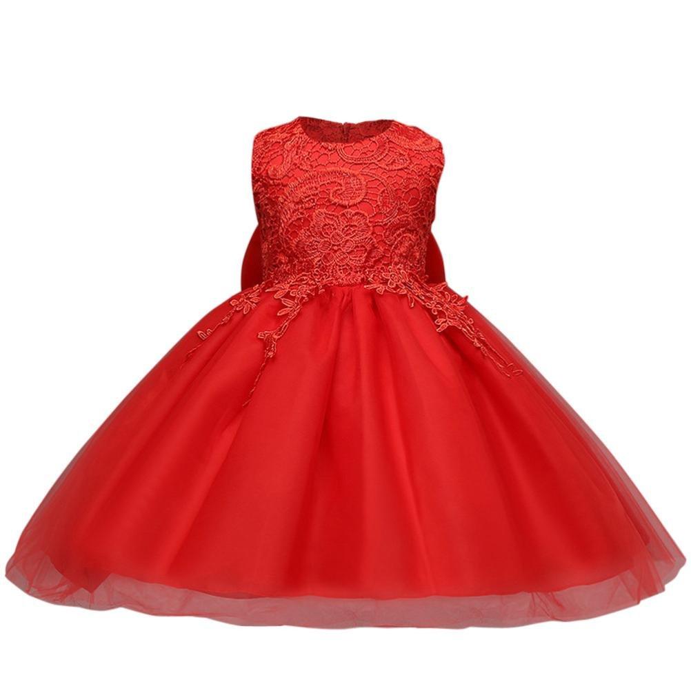 Hot Sale !!! Vestito Floreale Ragazza dei bambina Principessa formale On Sale Bowknot Festa dello spettacolo Abito da sposa damigella d'onore Clearance Rawdah-024